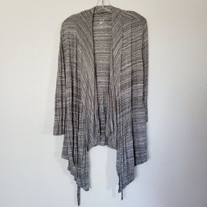 Heather Gray Long Sleeve Cardigan